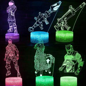 Lamp Fortnite characters kleuren