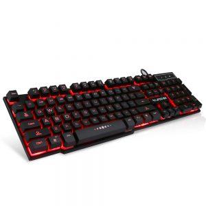 Gaming keyboard Rajfoo Kleuren verlichting